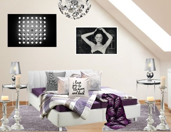 Cooles silbernes Schlafzimmer ♥ stylefruits Inspiration