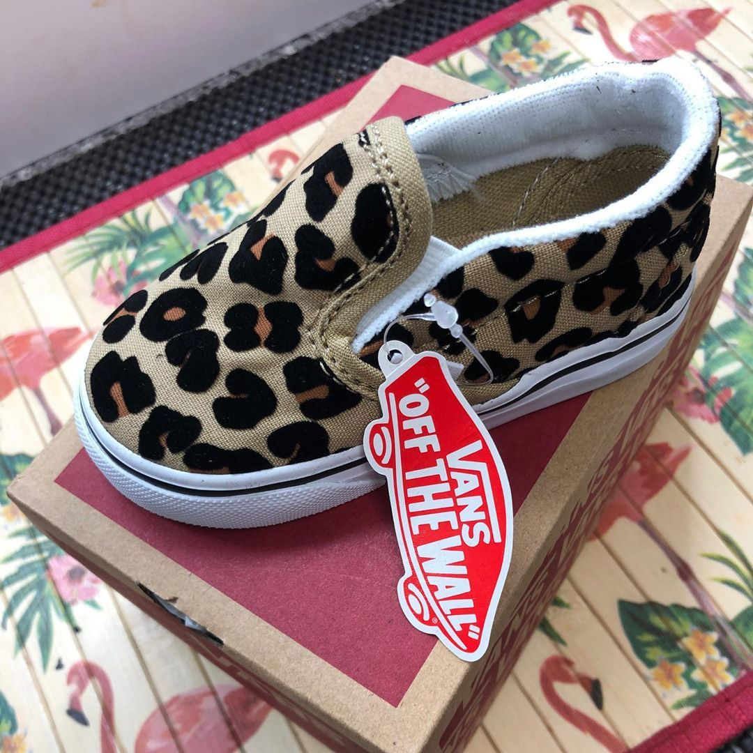 Skate Shoe - Baby / Toddler - Leopard