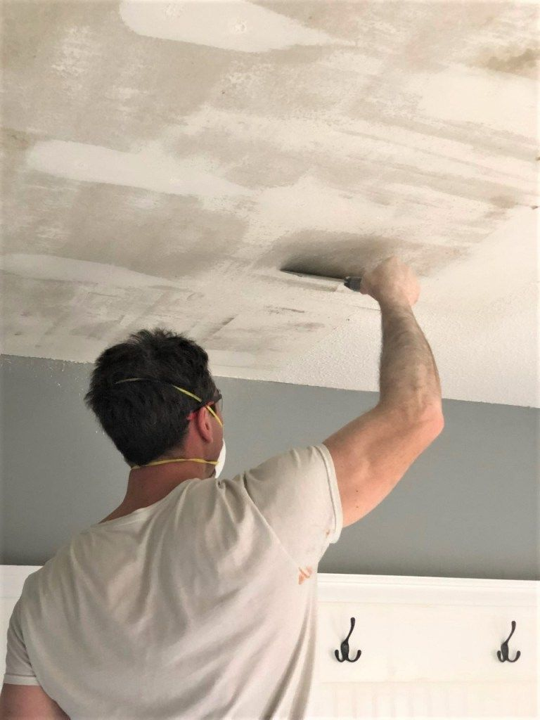How To Remove Popcorn Ceilings Like A Pro Smoothing Textured Ceilings Removing Popcorn Ceiling Ceiling Texture Cleaning Hacks