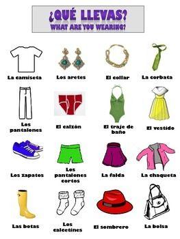 spanish vocabulary classroom objects