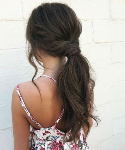 Most Wanted Long Pony Hairstyles For Teenage Girls Not To Miss Out Trendy Hairstyles Pony Hairstyles Teenage Hairstyles Short Hair Styles Easy