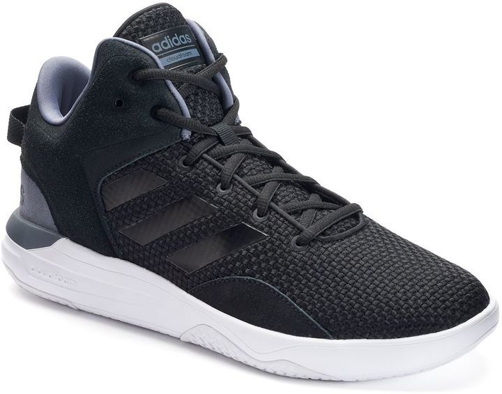 Get fresh style and a secure ankle fit when you lace into these men\u0027s  Cloudfoam Revival shoes from adidas NEO.