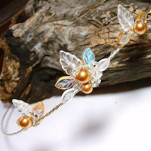 Fairy Lights Silver Gold Princess Tiara