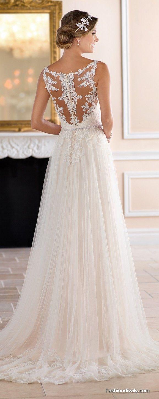 Stella york wedding dress new collections designer wedding