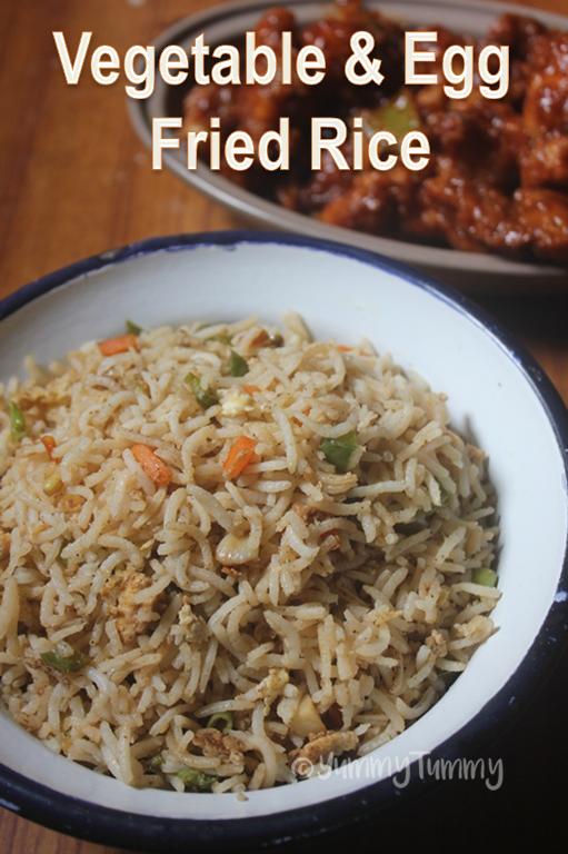 Vegetable Egg Fried Rice Recipe Easy Lunch Box Ideas Recipe Easy Lunch Recipes Indian Rice Recipes Egg Fried Rice Recipe Easy