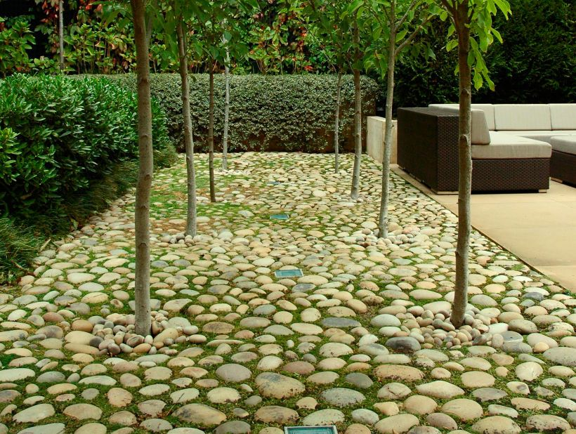 Eco Outdoor Eggshell Pebble Flooring Eckersley Garden Architecture