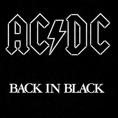 Ac Dc S Back In Black At 35 Classic Track By Track Album Review Billboard Acdc Album Covers Acdc Rock Album Covers
