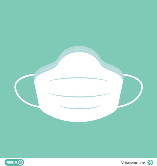 의료용 마스크 일러스트 Ai 무료다운로드 Free Mask Vector Di 2020