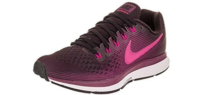 size 40 3d91c 3a386 Nike Women s Pegasus 34 - Supportive Running Shoes for a High Arch