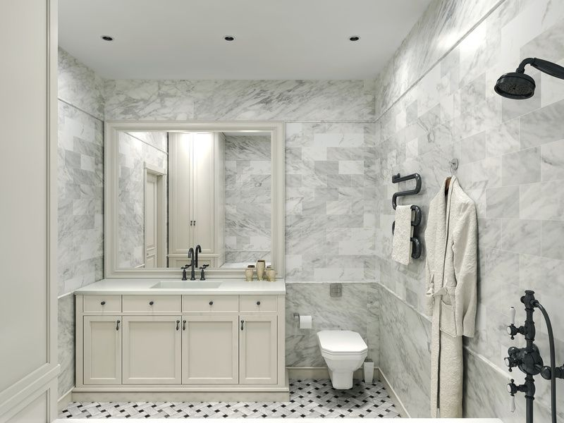 Bianco Carrara 6 X 24 Polished Marble Tile On Sale 8 29 Per