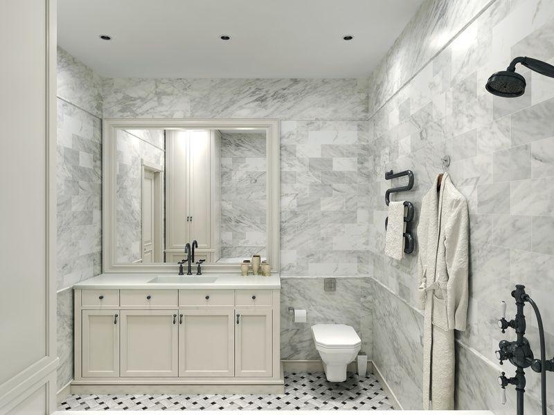 Shower Bath Ideas Marble Tile Bathroom White Marble Bathrooms
