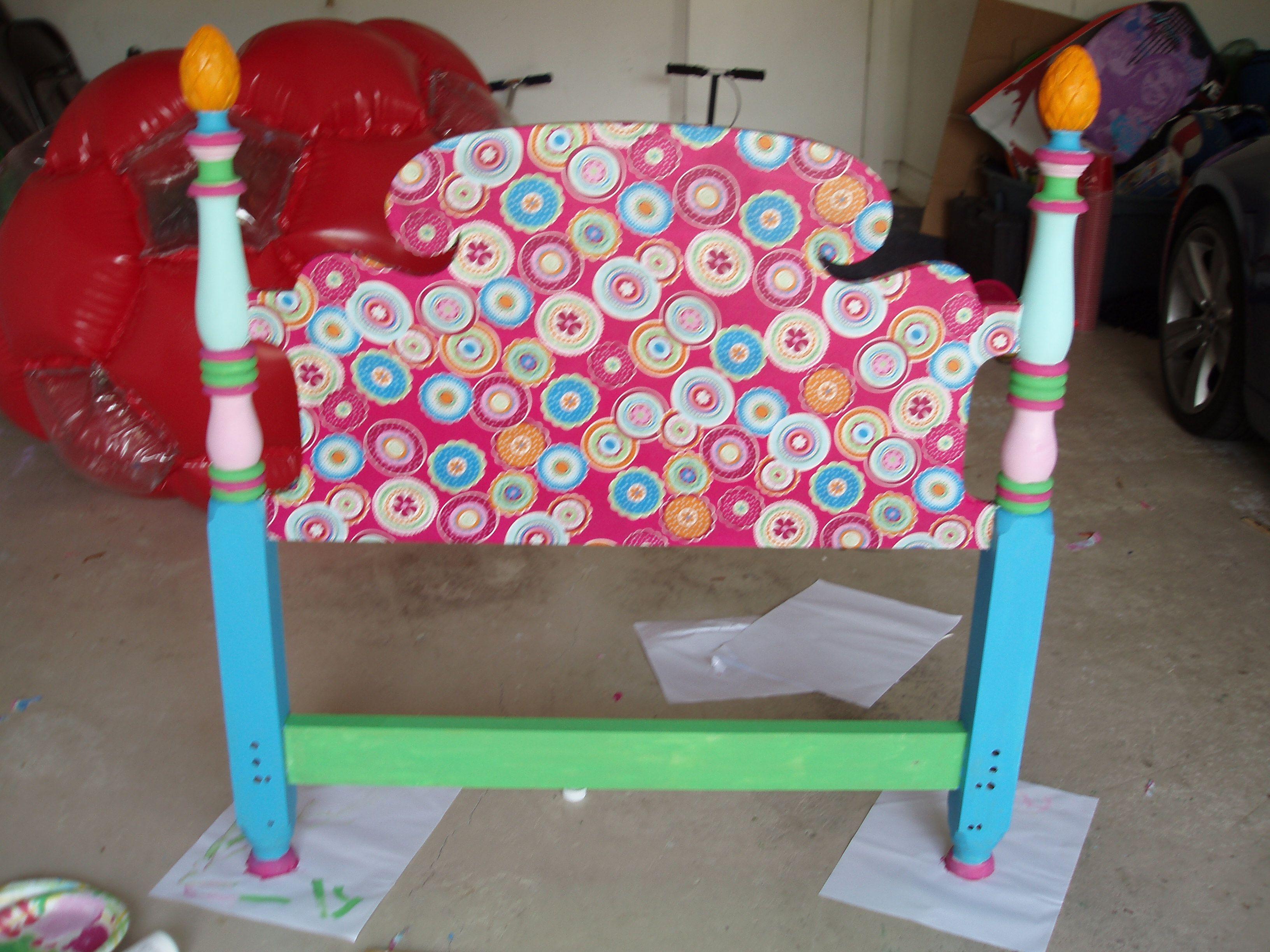 girl headboards reinventinggov teenage headboard org pinterest toddler little