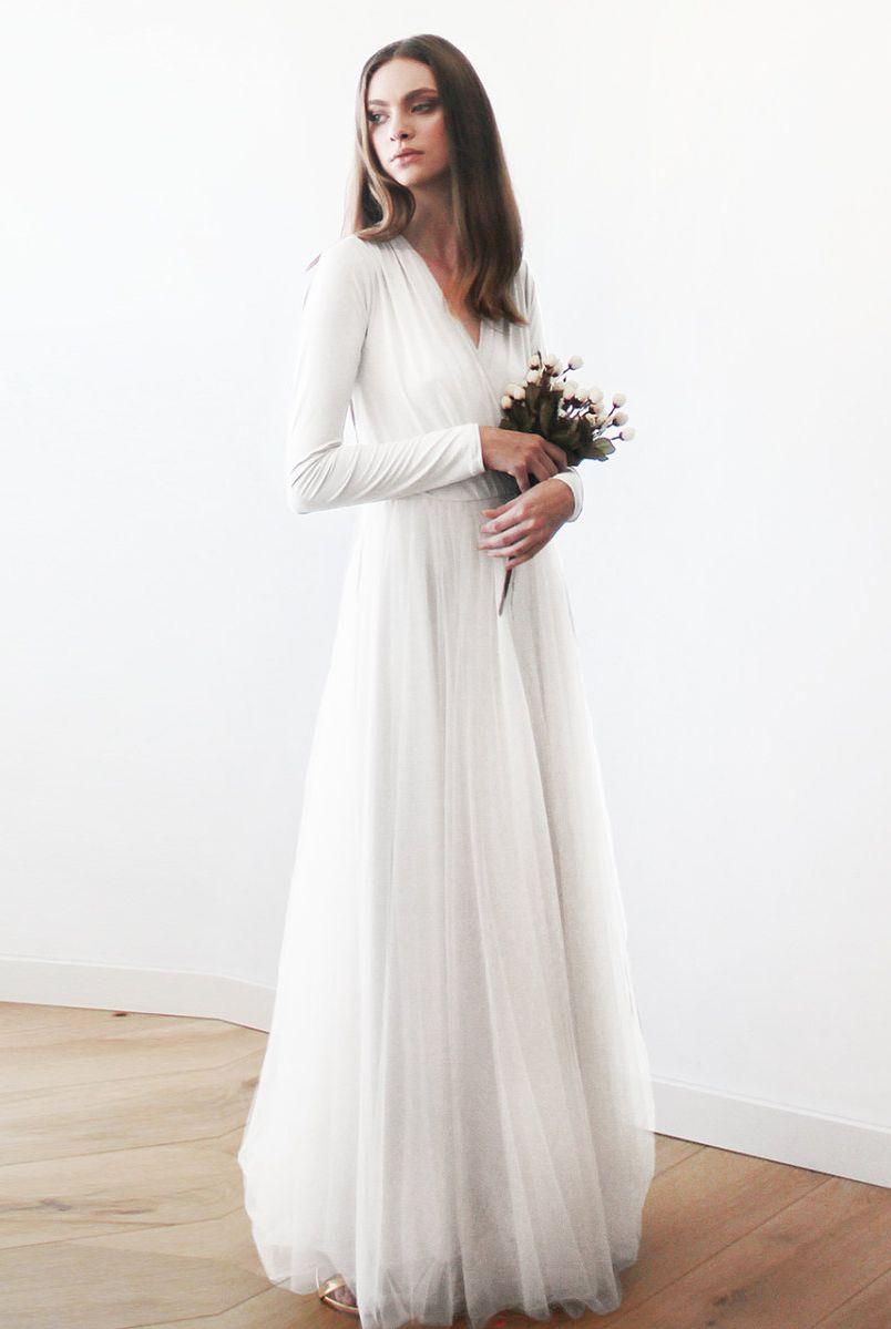 the prettiest handmade wedding dress #etsy | weddings | pinterest