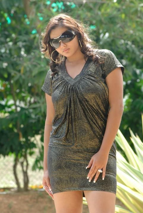 photo dress without fat Namitha mom