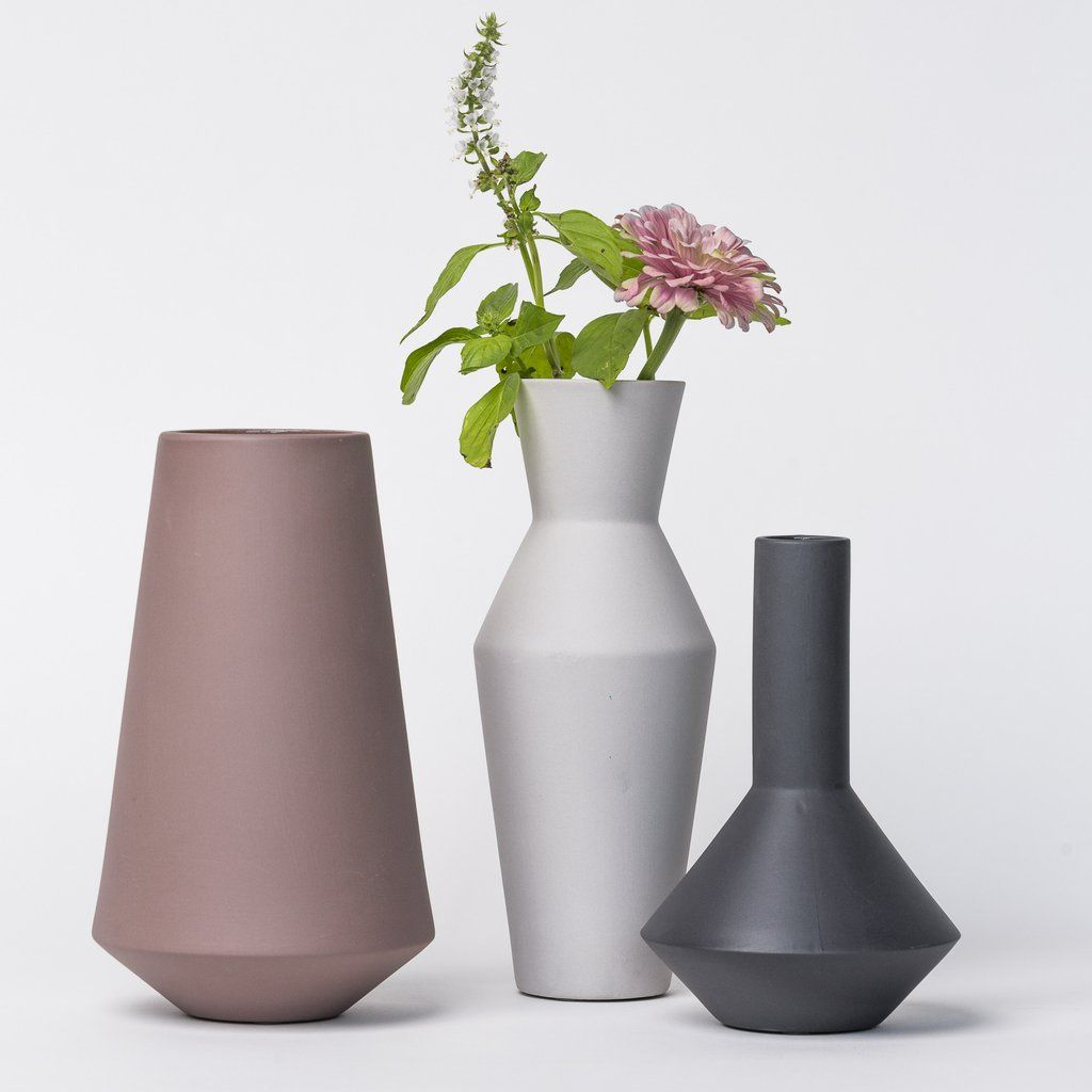 Ferm Living Sculpt Vase Corset Vase Ceramic Design Contemporary Pottery
