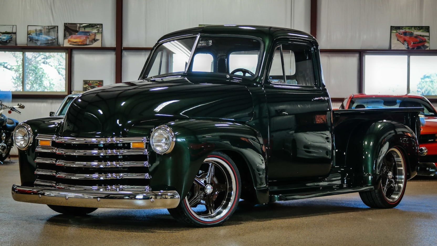 1951 Chevrolet 3100 Pickup Presented As Lot S187 At Dallas Tx 1954 Chevy Truck Classic Chevy Trucks Classic Cars