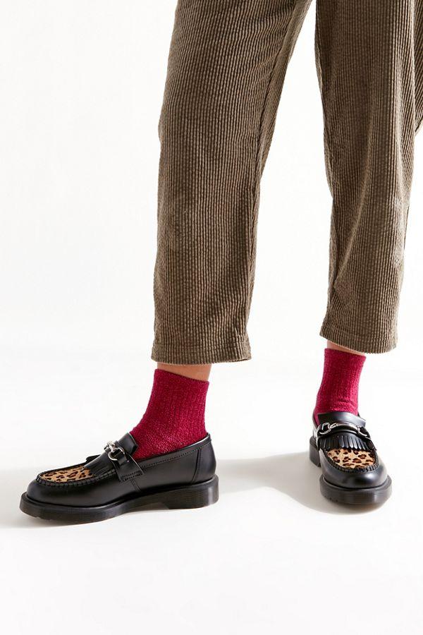 Dr Martens Adrian Snaffle Leopard Loafer Urban Outfitters Leopard Loafers Loafers Dr Martens Men
