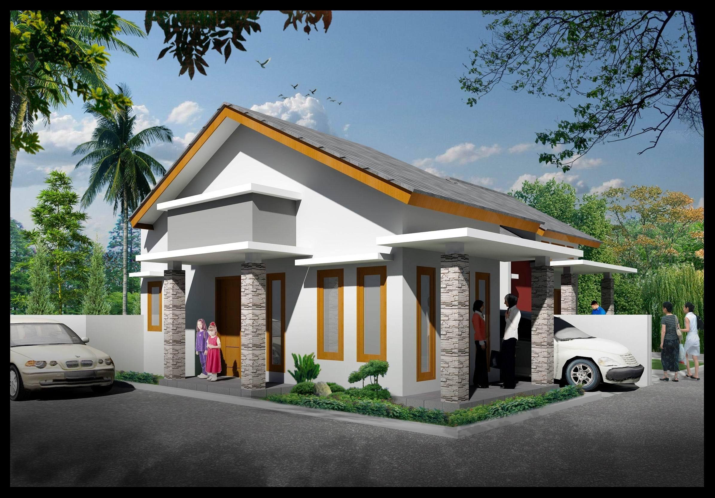 Model Warung Sederhana Depan Rumah