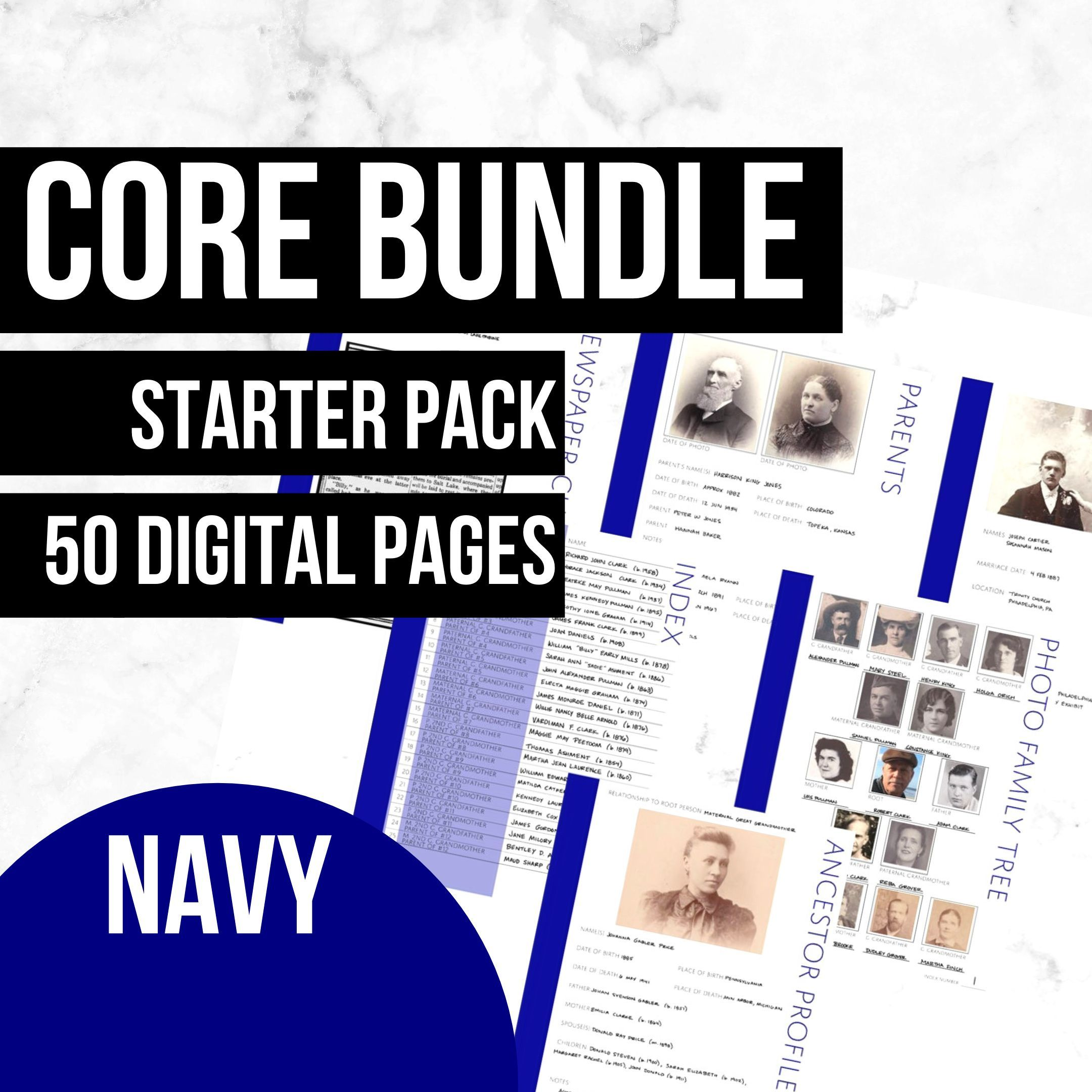 Core Pages Bundle In