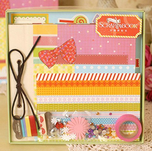 Guchina do it yourself scrapbook album kit scrapbook kit diy album guchina do it yourself scrapbook album kit scrapbook kit diy album set solutioingenieria Image collections