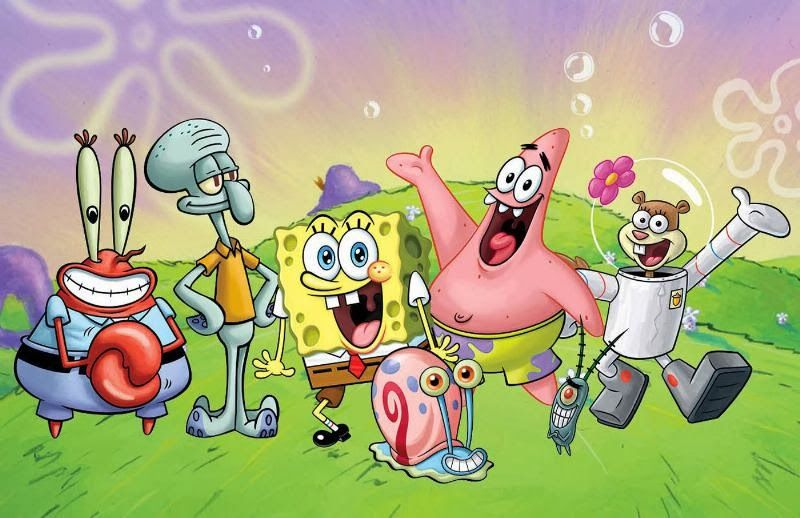 Spongebob Cast Animalia In 2019 Pinterest Spongebob Spongebob