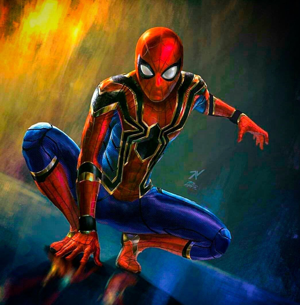 Iron Spider Avengers Suit Fan Art With Images Marvel