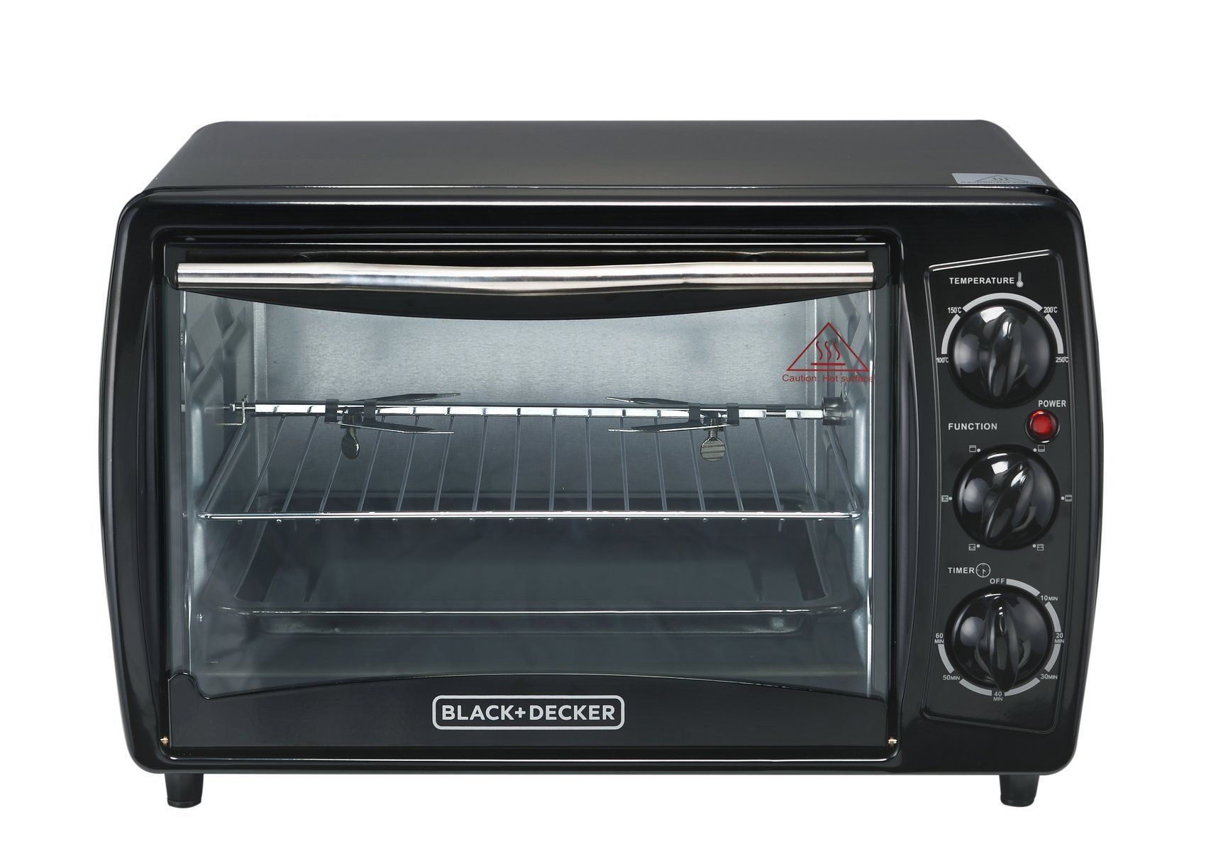 Black And Decker Tro2000r 19 L Toaster Oven With Rotisserie Nonusa