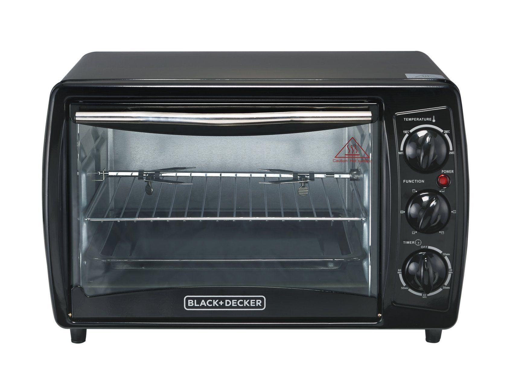 Black And Decker Tro2000r 19 L Toaster Oven With Rotisserie Nonusa