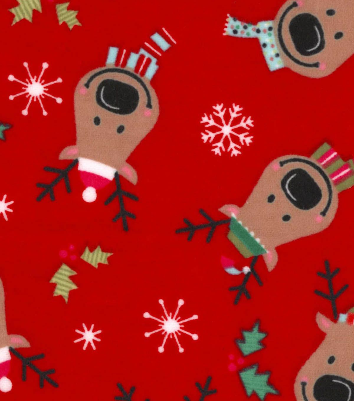 Red flannel fabric  Snuggle Flannel Fabric