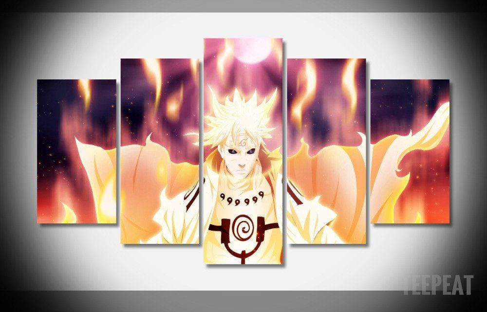 Naruto Evolution Naruto Shippuden Canvas Print Anime Art Home Decor Wall Art