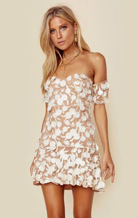 3e993f7aa3cf For Love And Lemons Clothing Dresses Mini Dresses Amelia Strapless Mini