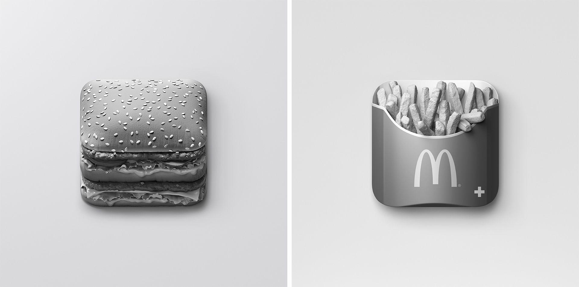 McDonald's App on Behance Mcdonald's app, App, Mcdonalds