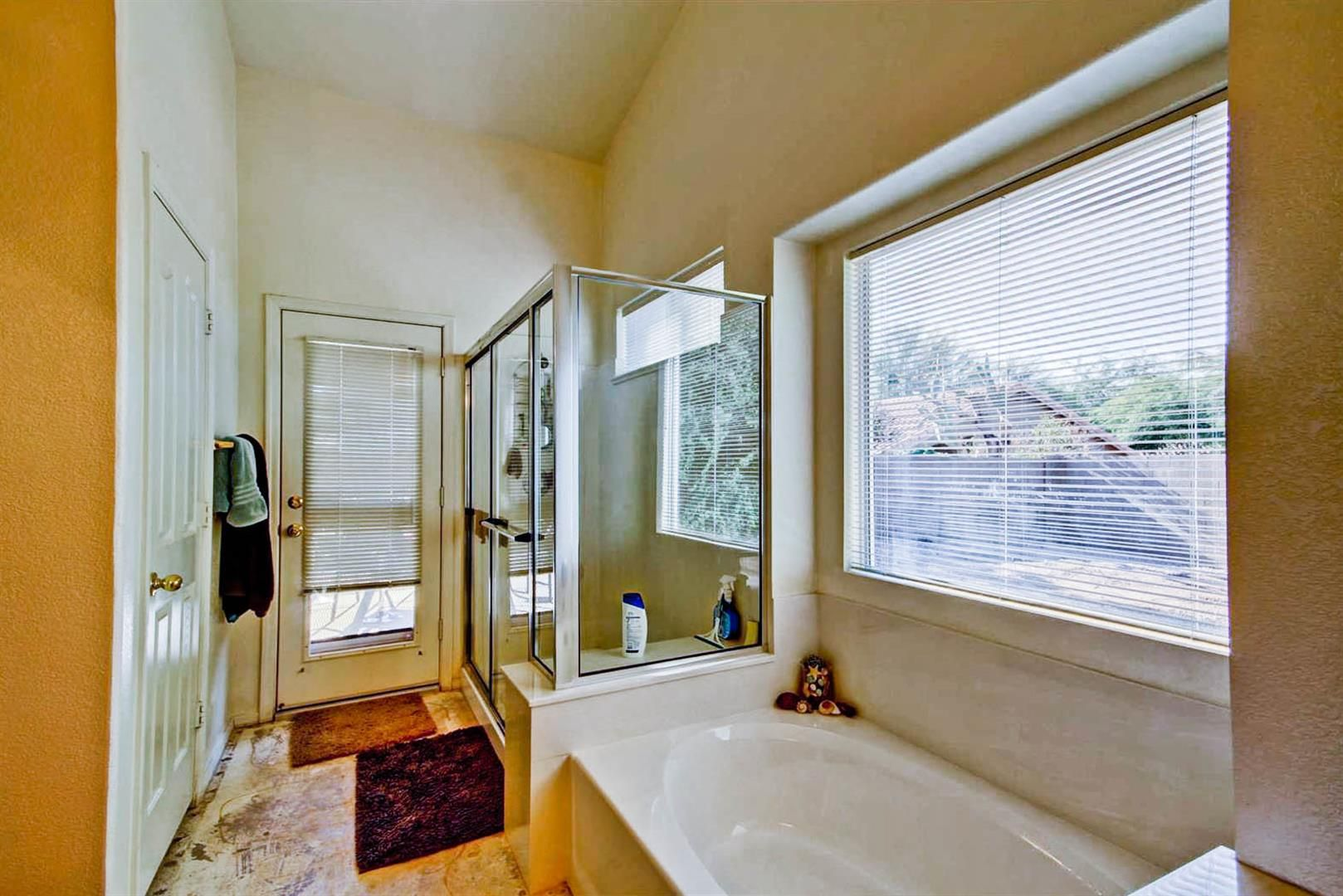 Separate Shower and Tub!