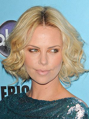 what is the best haircut for fine hair the best hairstyles for curly hair charlize 6135 | 68db1c2598f6c77876461b3a4c6135fb