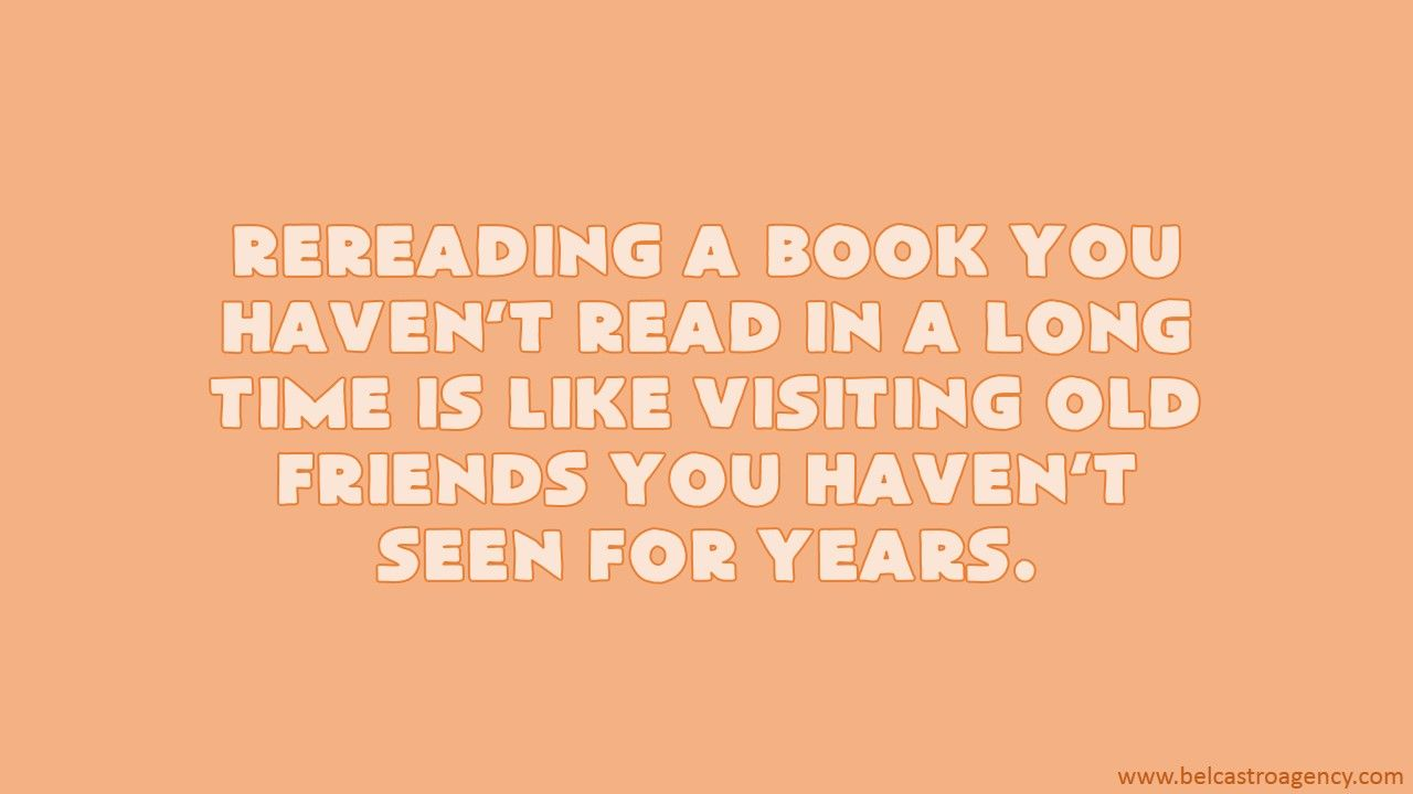 Who are you meeting all over again?
