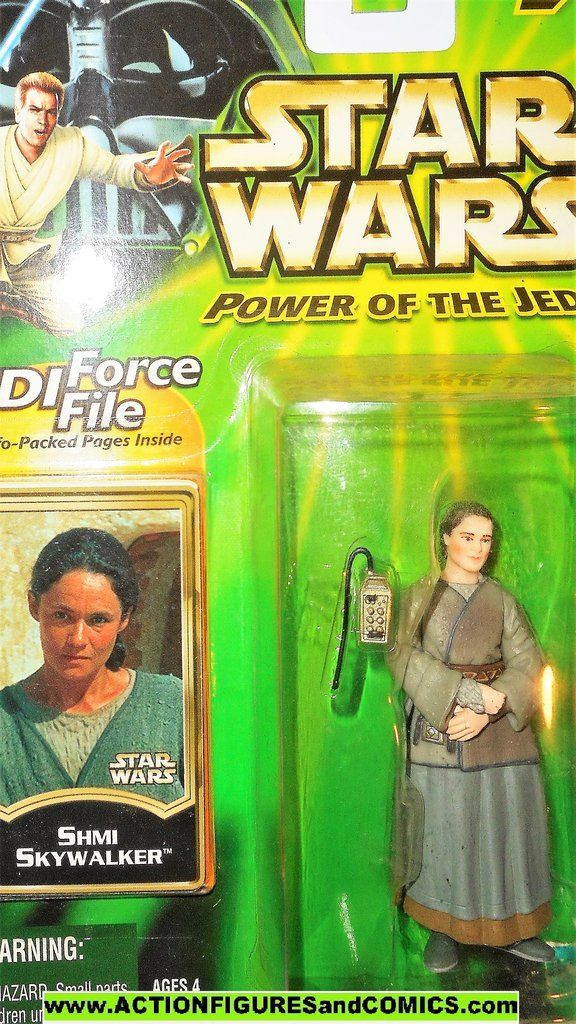 STAR WARS `00 Power of the Jedi SHMI SKYWALKER moc