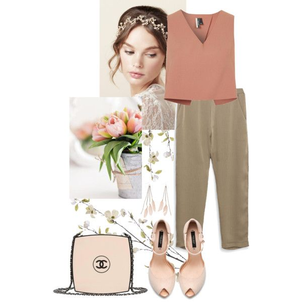 Pretend by nediam on Polyvore featuring Topshop, Zara, Chanel, Charlotte Russe, Pier 1 Imports, GetTheLook, WorkWear, minimal, dailysets and spring2016
