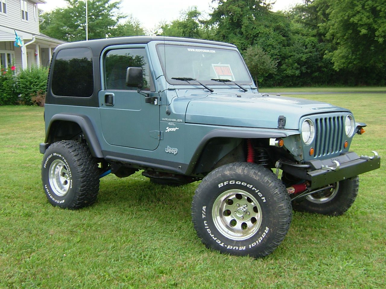 Baby Blue Jeep And Bernese Mountain Dog All I Need In Life 1998 Jeep Wrangler Jeep Wrangler Wheels Jeep Wrangler 1995