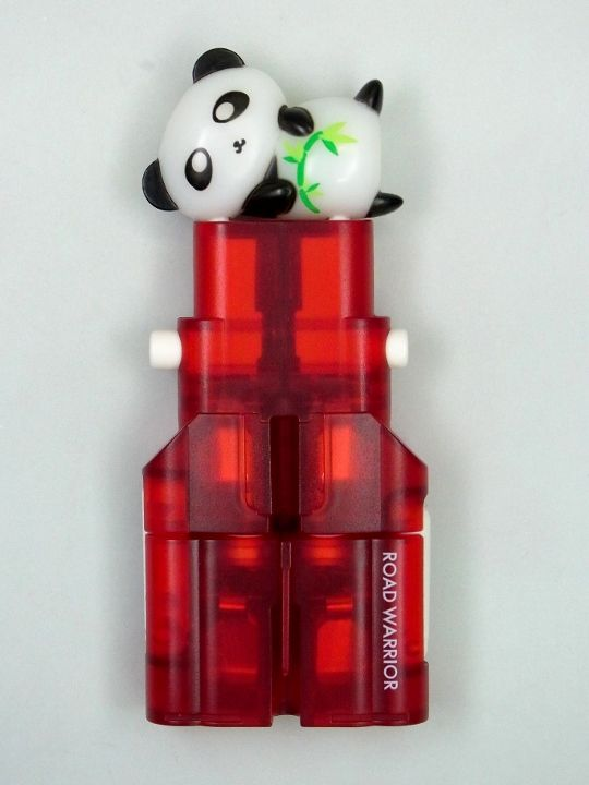 ROAD WARRIOR plug adapter Gocon W2 with a Panda Plug cap.