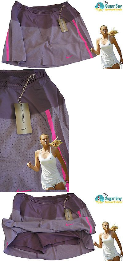 Pants 179018: Nike Maria Sharapova Tennis Skirt Mulberry Large With Inner Shorts -> BUY IT NOW ONLY: $64.19 on eBay!