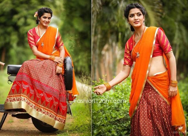 Bhargavi Kunam Latest Lehengas With Designer Blouses