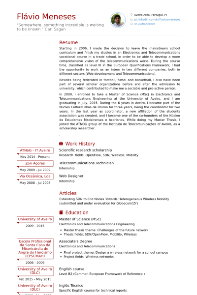 research work format