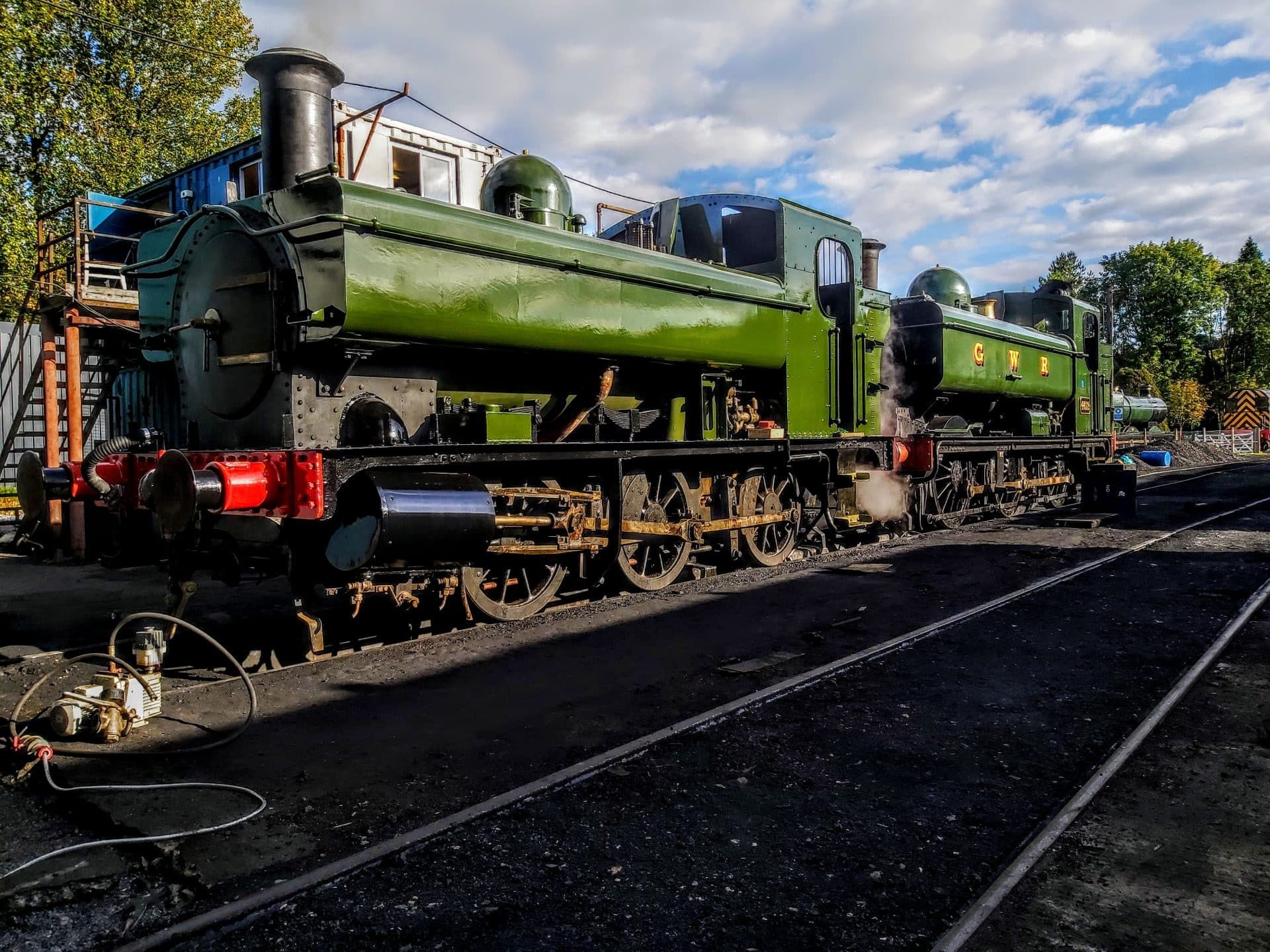 Steam in review 2019 GWR No. 1369 Steam