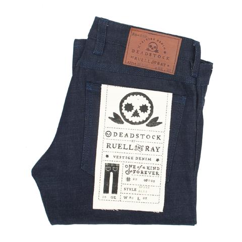 Ruell & Ray indigo spence selvedge slim jean