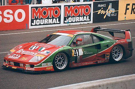 1995 Ferrari F40 Gt Evoluzione Lm Ferrari 2 998 Cc T Fabio Mancini Massimo Monti Gary Ayles Ferrari F40 Ferrari Racing Ferrari 288 Gto