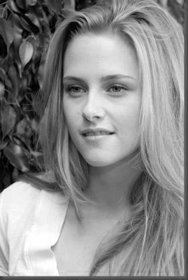 Kristen Stewart Poster Standup 4inx6in black and white