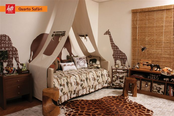 Safari Destination Decor Inspiration Adorable Themed Kids Room