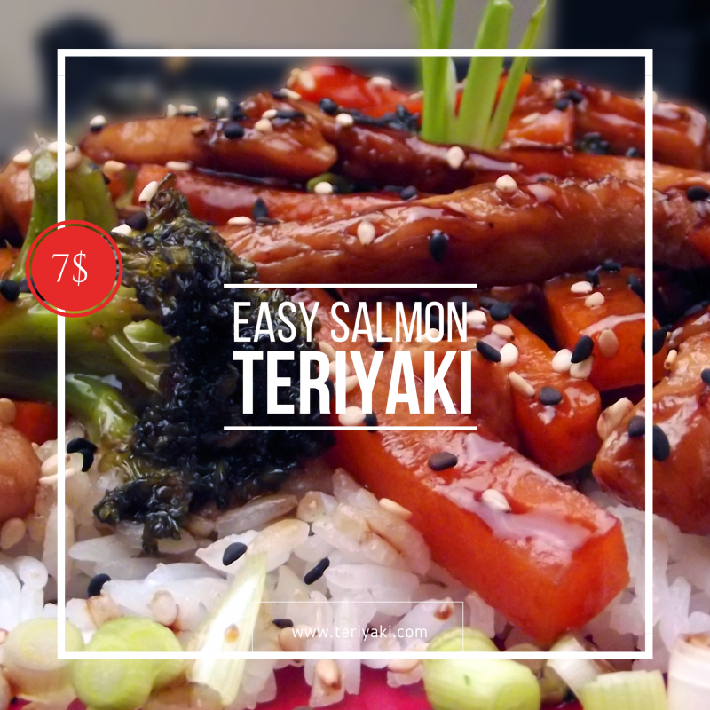Salmon Teriyaki Instagram Post Free Template from DesignBold #salmonteriyaki Salmon Teriyaki Instagram Post Free Template from DesignBold #salmonteriyaki