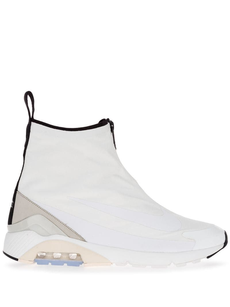 Nike hybrid boot sneakers White in 2019 | Sneaker boots