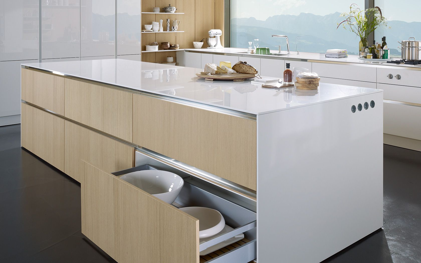 Modern kitchen without handles: S2 | siematic.com | KITCHEN ...